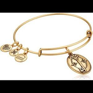 "Alex and Ani ""Key to life"" expandable bracelet"